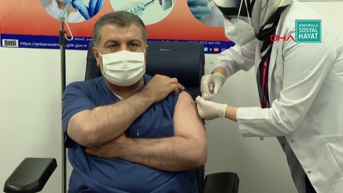 saplık bakanı koronavirüs aşısı